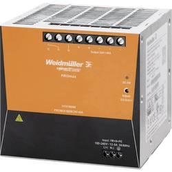 Sieťový zdroj na montážnu lištu (DIN lištu) Weidmüller PRO MAX 960W 24V 40A, 24 V/DC, 40 A, 960 W