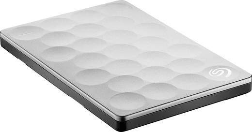 Externe Festplatte 6.35 cm (2.5 Zoll) 2 TB Seagate Backup Plus Ultra Slim Platin USB 3.0