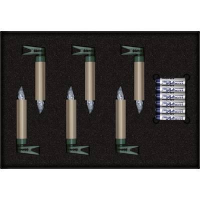 Mini Weihnachtsbaum Mit Batterie.Weihnachtsbaum Beleuchtung Innen Batteriebetrieben 9 V Led Warm Weiß Cashmere Krinner Premium Mini