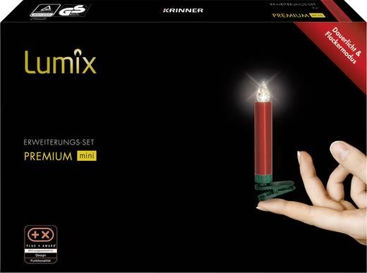 weihnachtsbaum beleuchtung innen batteriebetrieben 6 led warm wei rot krinner premium mini kaufen. Black Bedroom Furniture Sets. Home Design Ideas