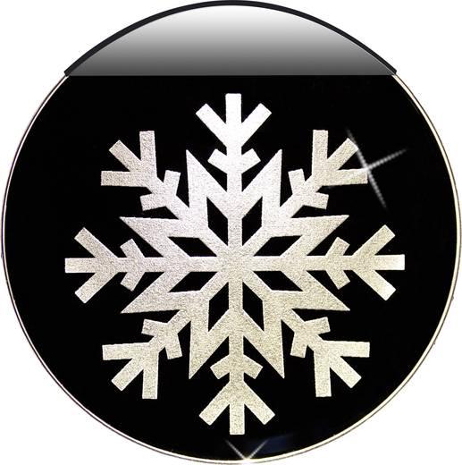 Led fensterbild schneeflocke krinner 76100 - Led fensterbild ...