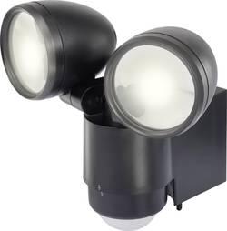 Projecteur LED extérieur avec détecteur de mouvements blanc lumière du jour Renkforce Cadiz 10 W noir