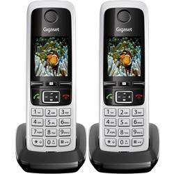 Image of Gigaset C430 HX Duo DECT Mobilteil Schwarz/Silber