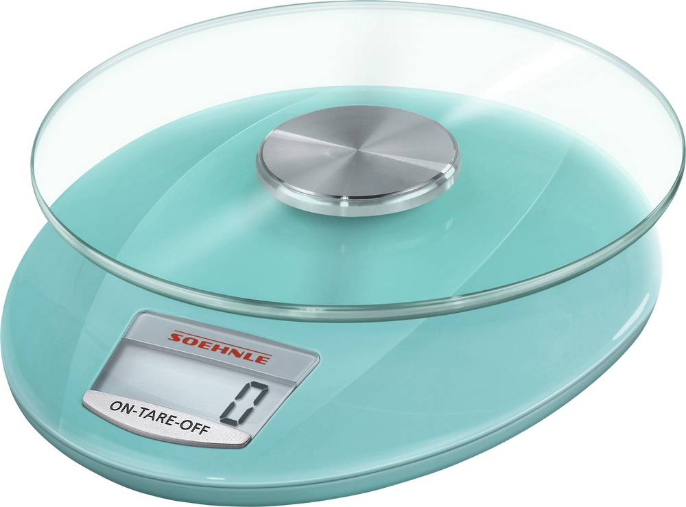 Blue Kitchen Scales: Digital Kitchen Scales Digital Soehnle Roma Weight Range=5