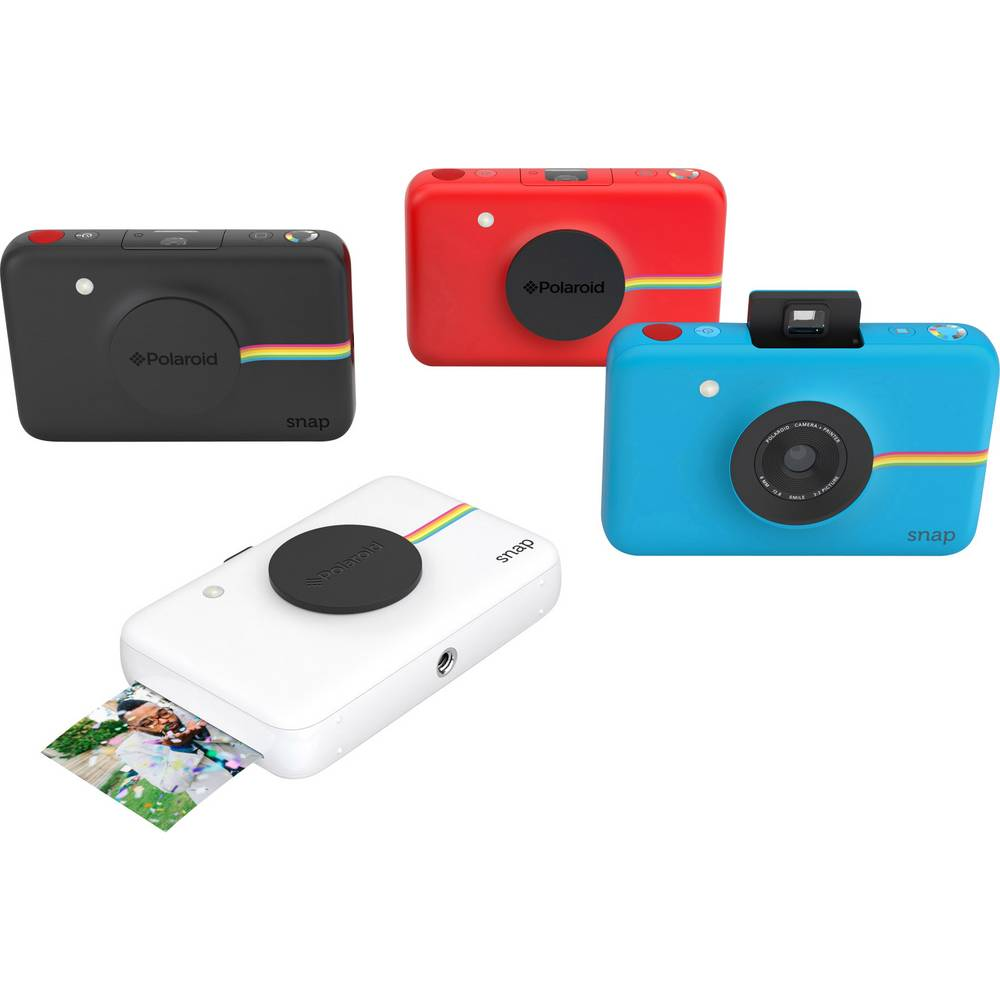 appareil photo d veloppement instantan polaroid snap noir sur le site internet conrad 1435624. Black Bedroom Furniture Sets. Home Design Ideas