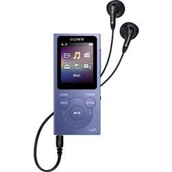 MP3 prehrávač, MP4 prehrávač Sony Walkman® NW-E394L, 8 GB, modrá