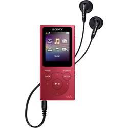 MP3 prehrávač, MP4 prehrávač Sony Walkman® NW-E394R, 8 GB, červená
