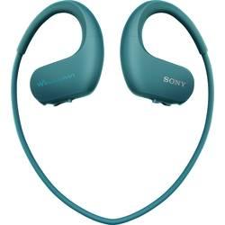 Športové štupľové slúchadlá Sony NW-WS413L NWWS413L.CEW, modrá