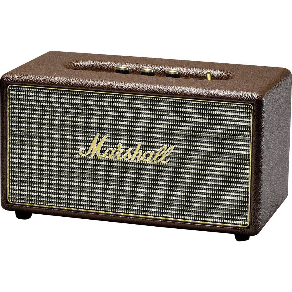 Bluetooth Speaker Marshall Stanmore BT Brown Aux From