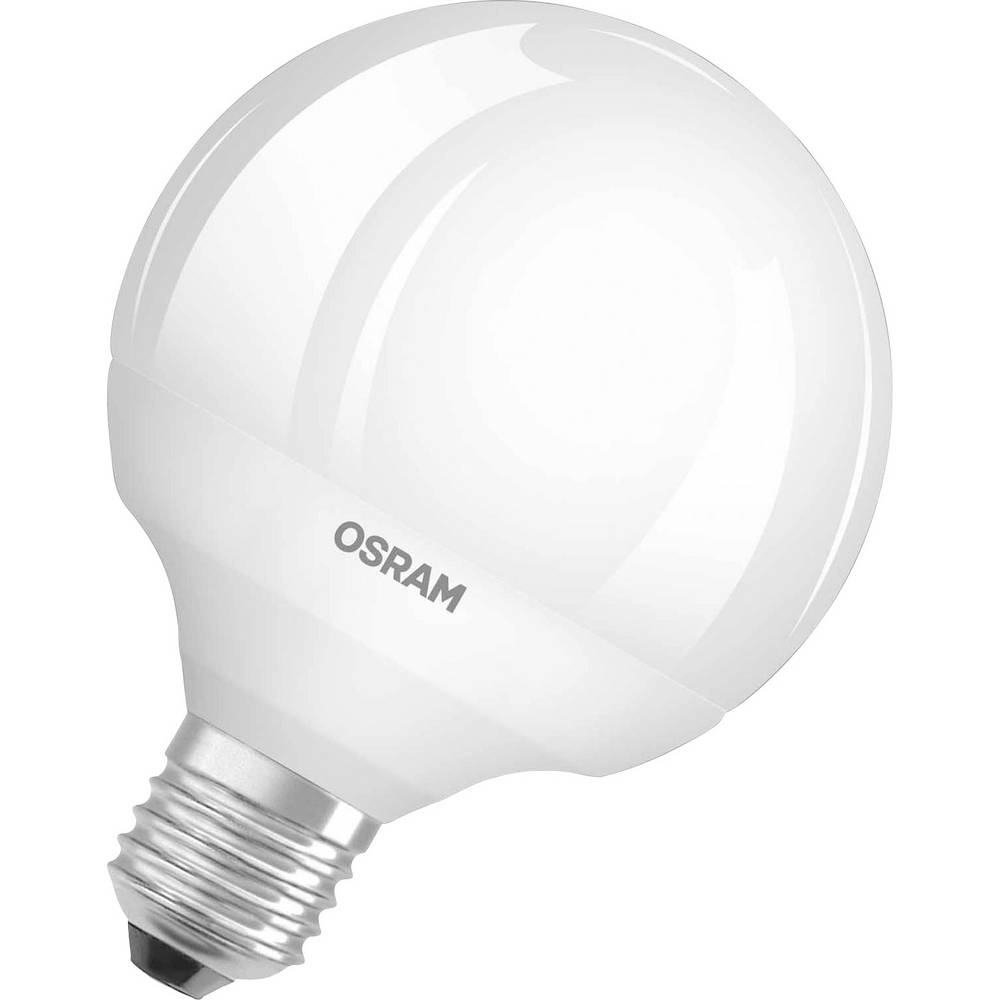 ampoule led e27 osram 4052899961326 en forme de globe 15 5 w 100 w blanc chaud x l 95 mm x. Black Bedroom Furniture Sets. Home Design Ideas