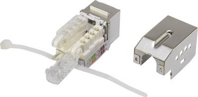 RJ45 moduleKeystoneCAT 6With locking RenkforceKSV10