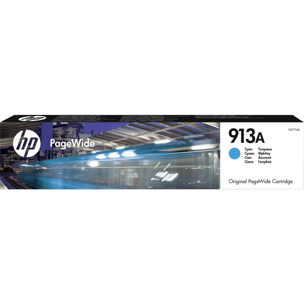 HP Inkt 913A Origineel Cyaan F6T77AE