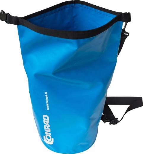 Conrad Packsack Dry Bag 15 l (L x B x H) 355 x 355 x 540 mm Cyan