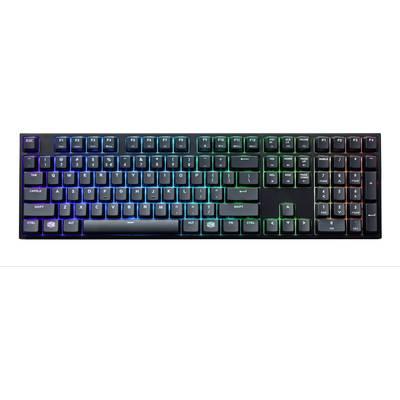 Cooler Master MasterKeys Pro L RGB USB-Gaming-Tastatur Beleuchtet, Switch: Brown, mit nume Preisvergleich
