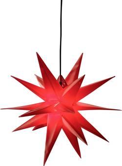 LED vánoční hvězda, dekorační osvětlení Deco-Plant XL 60cm 7956, E14, 40 W, červená