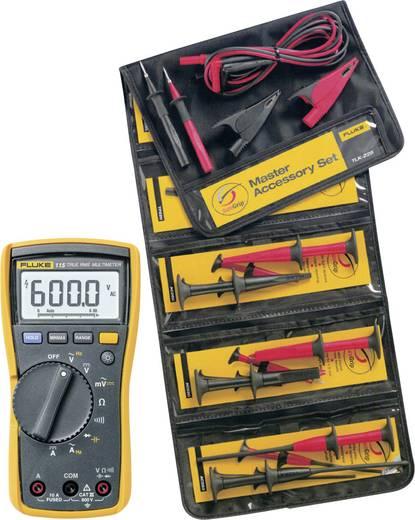 Hand-Multimeter digital Fluke FLK115/TLK-225-1 Sicherheits-Messleitungs-Set Kalibriert nach: Werksstandard CAT III 600 V Anzeige (Counts): 6000