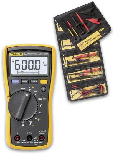 Fluke FLK115/TLK-225-1 Hand-Multimeter digital Kalibriert nach: Werksstandard (ohne Zertifikat) CAT III 600 V Anzeige (