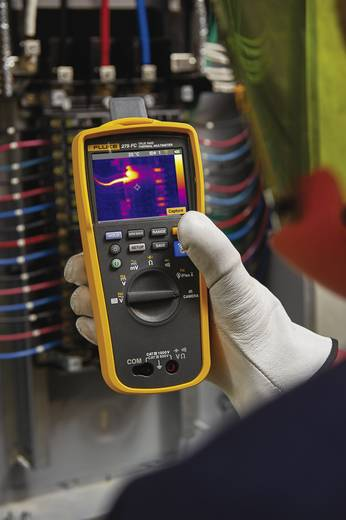 Hand-Multimeter Fluke 279FC/IFLEX Kalibriert nach: Werksstandard (ohne Zertifikat) integrierte Wärmebildkamera