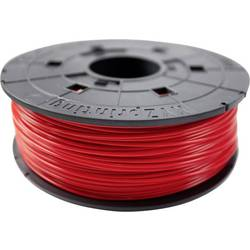 Vlákno pro 3D tiskárny XYZprinting RFPLCXEU02A, PLA plast, 1.75 mm, 600 g, červená (transparentní)