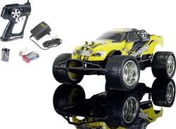 RC model auta Truggy Carson Modellsport Rock Warrior, komutátorový, 1:10, elektrický, zadní 2WD
