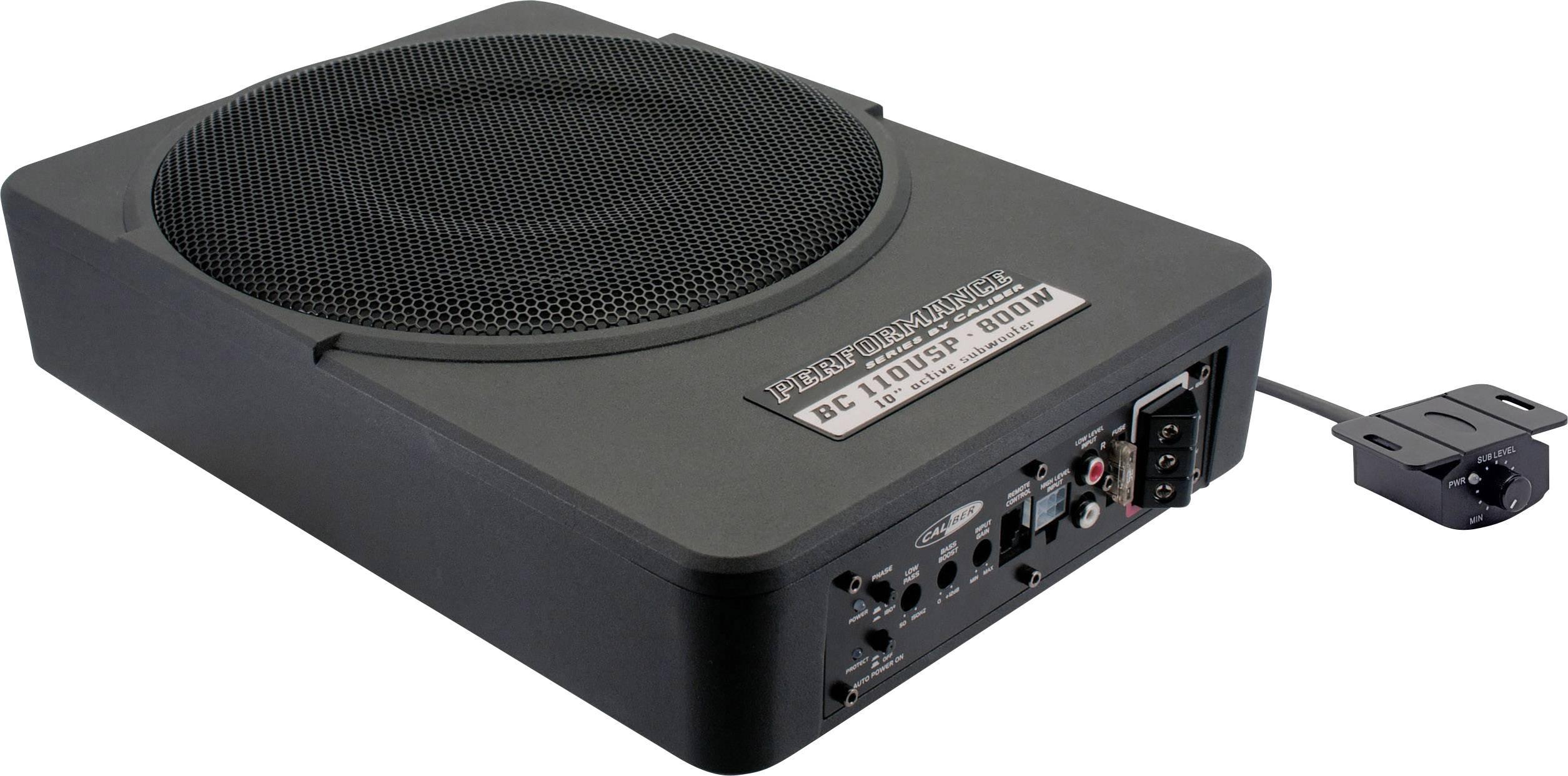 caliber audio technology bc110usp auto subwoofer aktiv 800 w kaufen. Black Bedroom Furniture Sets. Home Design Ideas