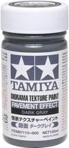 Modellbahn-Texturfarbe Dunkel-Grau Tamiya 30008...