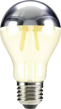LED žárovka Sygonix STA6010mirror 230 V, E27, 5 W = 46 W, teplá bílá, A++, vlákno, 1 ks