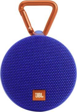 Enceinte Bluetooth JBL Harman Clip 2 fonction mains libres, protégée contre les projections d'eau bleu