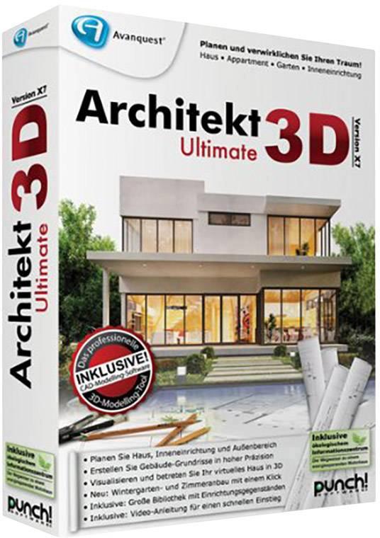 PC Software Avanquart Architekt 3D X7 Ultimate