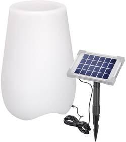 LED solární dekorativní osvětlení květináč Esotec bloempot 106030, bílá, RGB