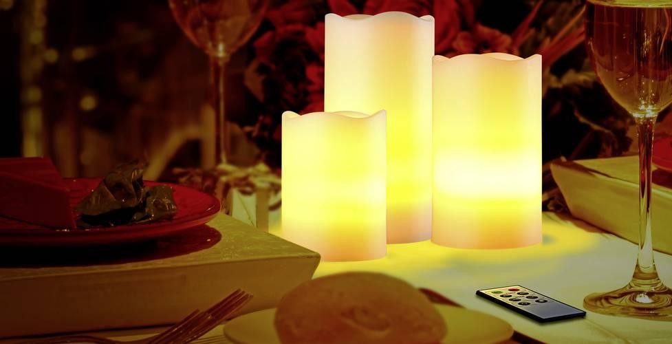 Polarlite LED-Kerze