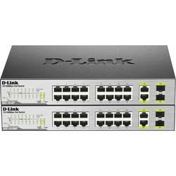 Sieťový switch D-Link DES-1018MP, 16 + 2 porty, 100 Mbit/s, funkcia PoE