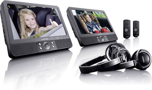 kopfst tzen dvd player mit 2 monitoren lenco dvp 939. Black Bedroom Furniture Sets. Home Design Ideas