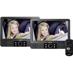 DVD prehrávač do opierok hlavy, 2x LCD Lenco MES-405