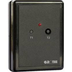 Bezdôtový zvonček Grothe 43380, prijímač, Max. dosah 500 m, čierna