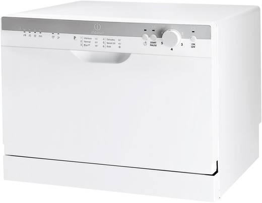 Stand-Geschirrspüler 55 cm Indesit ICD 661 EU EEK: A Standgerät Weiß