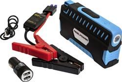 Powerbanka RealPower PB-Starter 2, Li-Pol 12000 mAh, černá/modrá