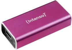 Powerbanka Intenso 5200 Li-Ion akumulátor 5200 mAh, růžová - Intenso Powerbank ALU 5200 mAh pink - Intenso Powerbank ALU 5200 mAh pink
