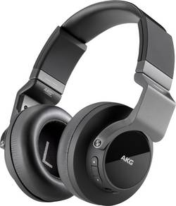 Image of AKG Harman K845BT Bluetooth® Kopfhörer Over Ear Faltbar, NFC Schwarz