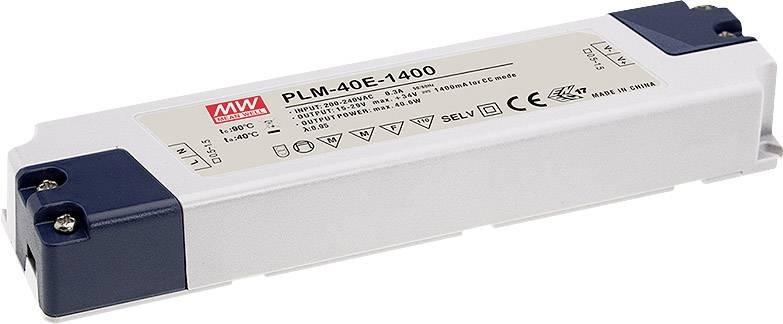 Mean Well LPC-20-350 LED-Treiber Konstantstrom 16.8 W 0.35 A 9-48 V//DC