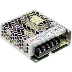 Zabudovateľný sieťový zdroj AC/DC, uzavretý Mean Well LRS-50-15, 15 V/DC, 3.4 A, 51 W