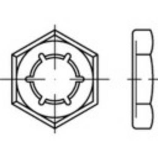 Sicherungsmuttern M42 DIN 7967 Federstahl feuerverzinkt 1 St. TOOLCRAFT 144092