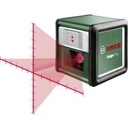 Optický nivelačný prístroj samonivelačná, vr. statívu Bosch Home and Garden Quigo Plus, Dosah (max.): 7 m, Kalibrované podľa: bez certifikátu