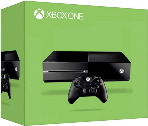 Microsoft Xbox One Konsole 500 GB inkl. Controller