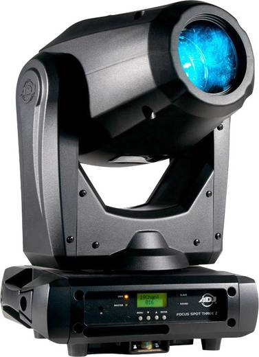 led moving head adj focus spot three z anzahl leds 1 x 100 w. Black Bedroom Furniture Sets. Home Design Ideas