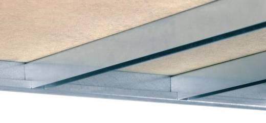 Weitspannregal-Komplettregal (B x H x T) 4090 x 2000 x 435 mm Stahl verzinkt Verzinkt Holzboden Orion Regalsysteme GZB20