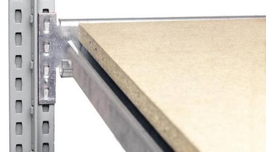 Weitspannregal-Komplettregal (B x H x T) 4090 x 2000 x 435 mm Stahl verzinkt Verzinkt Metallboden Orion Regalsysteme GZB