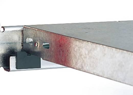 Weitspannregal-Anbaumodul (B x H x T) 2020 x 2000 x 835 mm Stahl verzinkt Verzinkt Metallboden Orion Regalsysteme GZA208