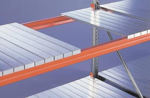 Weitspannregal-Komplettregal (B x H x T) 4755 x 2200 x 800 mm Stahl verzinkt, pulverbeschichtet Verzinkt, Rot-Orange Sta