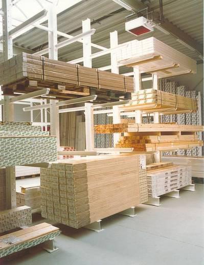 Kragarmregal Stahl sandgestrahlt, pulverbeschichtet IPE 270 / 120 Narzissengelb (RAL 1007)